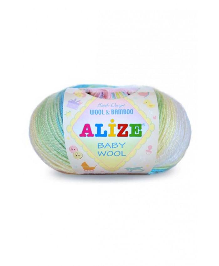 Прежда Baby Wool Batik